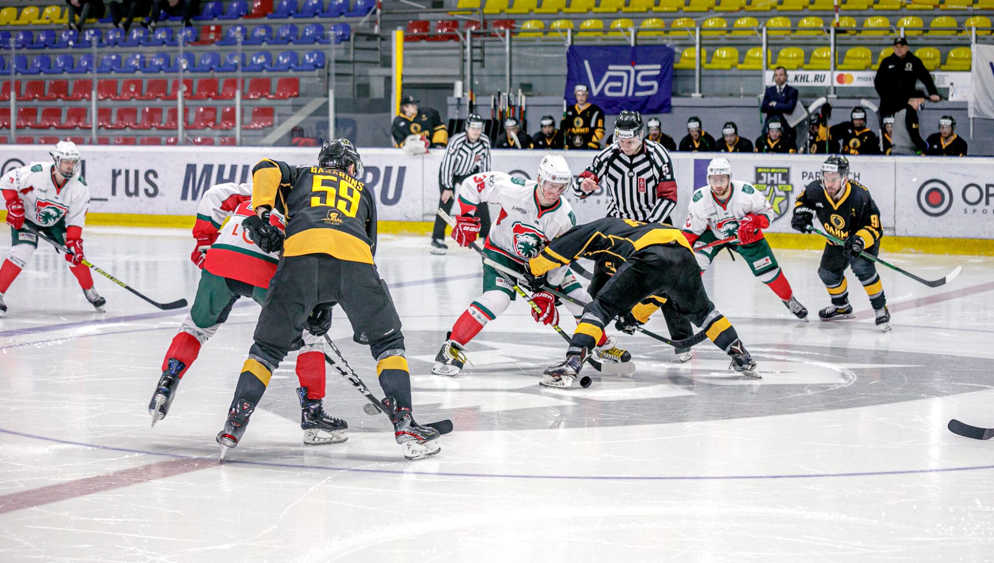 "Izšķiroša spēle OHL play-off pret ""HK Olimp/Venta 2002"""